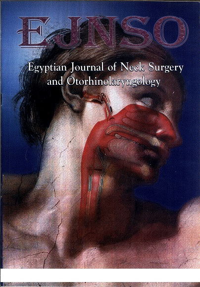 Egyptian Journal of Neck Surgery and Otorhinolaryngology